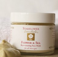starflower - Flower & Sea Rejuvenating Face Mask