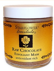 starflower - Raw Chocolate-Exfoliant Mask for Face and Body